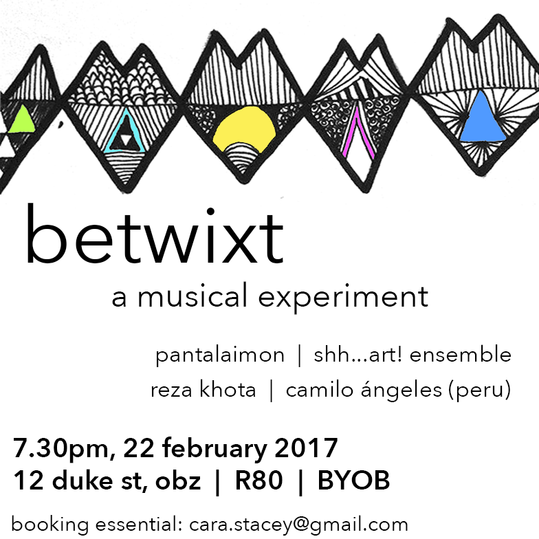 Poster for Betwixt 1 concert.