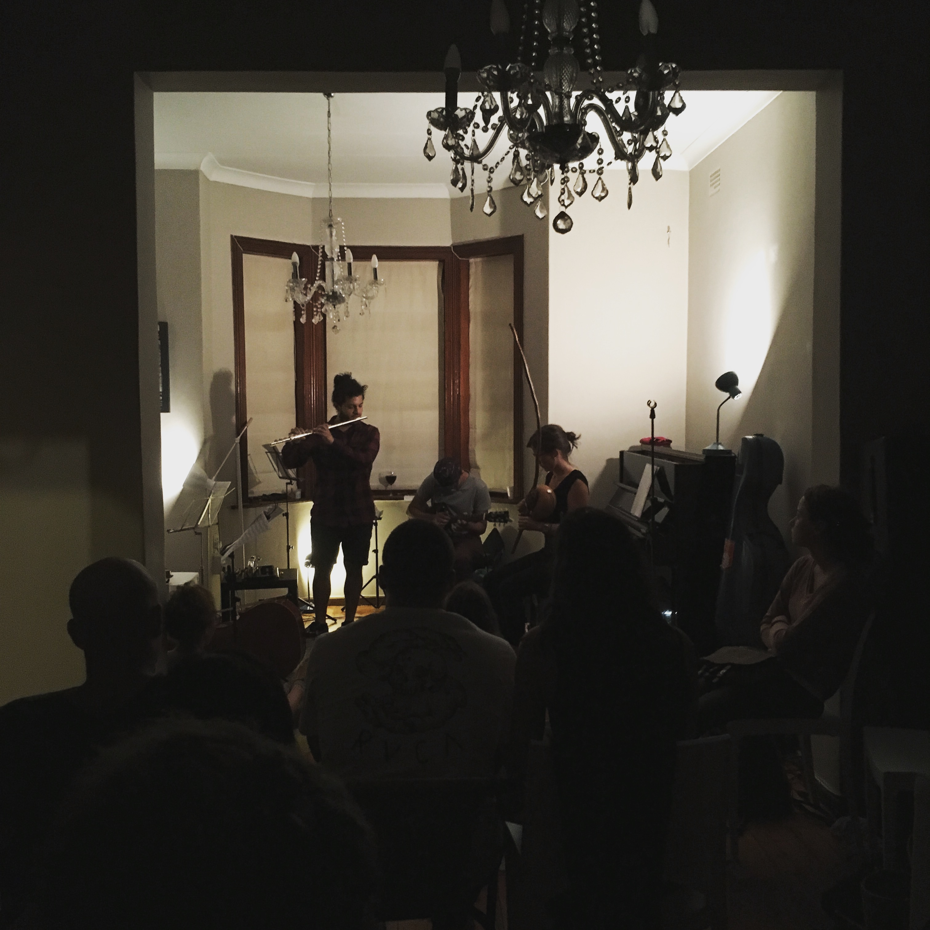 Camilo Ángeles and Cara Stacey performing at Betwixt 1.